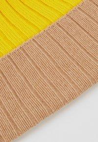 Johnstons of Elgin - Bonnet - baby camel/bright yellow - 4