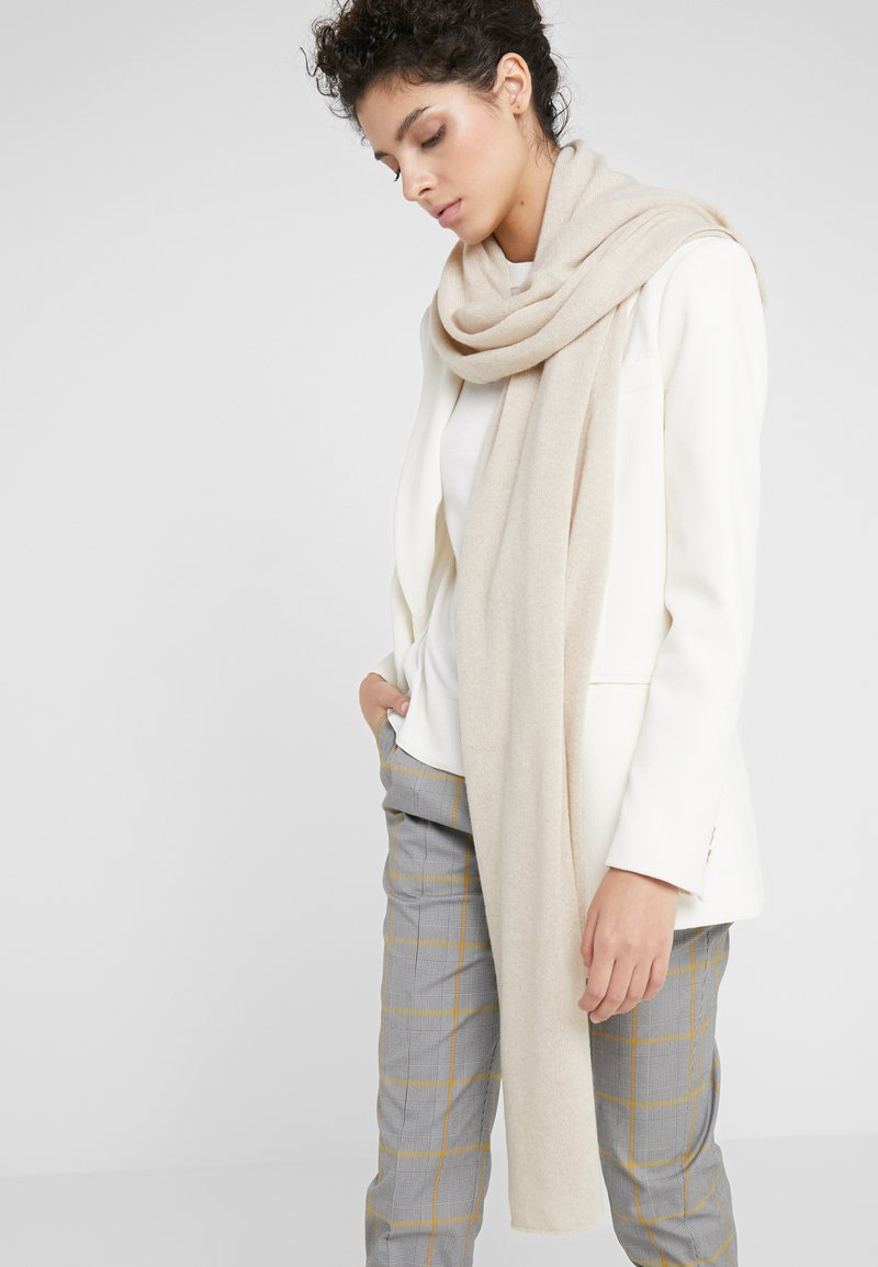 Johnstons of Elgin - ESSENTIALS COLLECTION GAUZY STOLE - Bufanda - natural