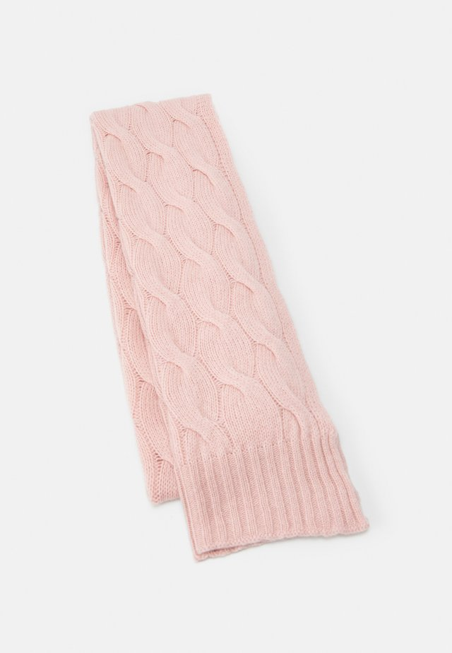 GAUZY CABLE SCARF - Scarf - orchid