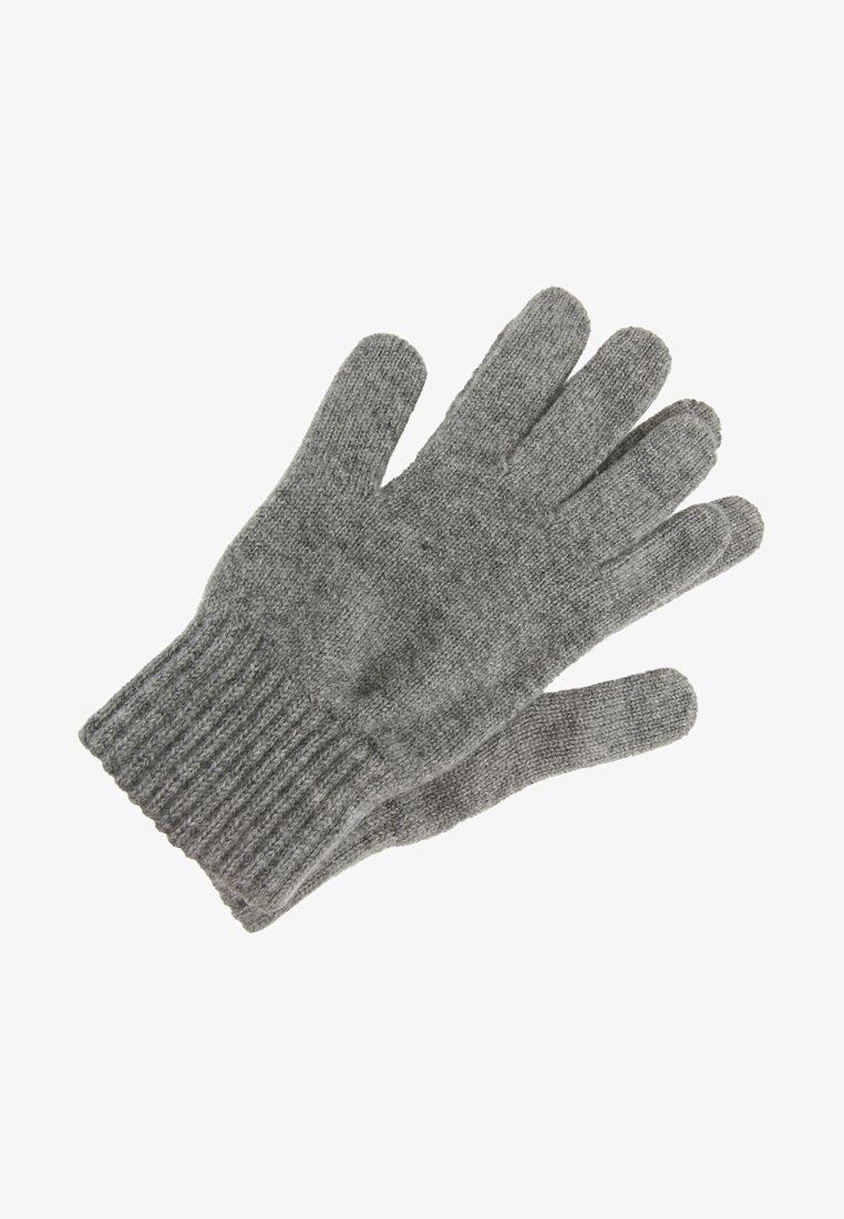 Johnstons of Elgin - CASHMERE GLOVES - Fingervantar - grey