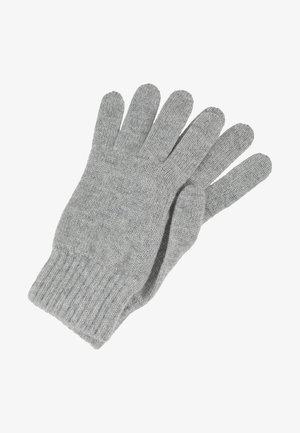 CASHMERE GLOVES - Rękawiczki pięciopalcowe - silver