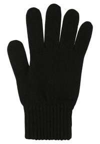 Johnstons of Elgin - CASHMERE GLOVES - Gants - black - 1