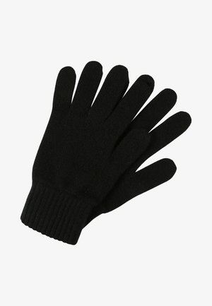 CASHMERE GLOVES - Sormikkaat - black