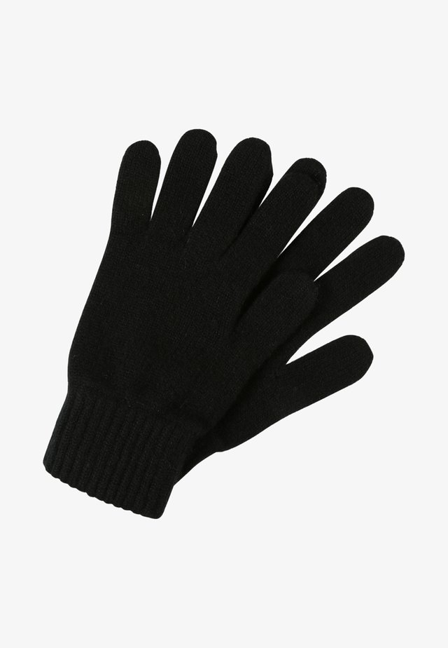 CASHMERE GLOVES - Fingervantar - black