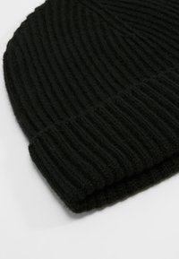 Johnstons of Elgin - CASHMERE BEANIE - Čepice - black - 5