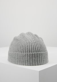 Johnstons of Elgin - CASHMERE BEANIE - Huer - silver - 0