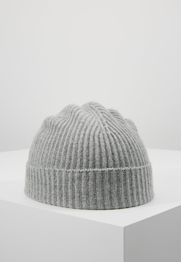 Johnstons of Elgin - CASHMERE BEANIE - Huer - silver