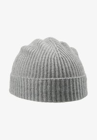 Johnstons of Elgin - CASHMERE BEANIE - Huer - silver - 4