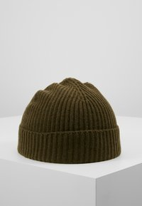 Johnstons of Elgin - CASHMERE BEANIE - Muts - dark olive - 2