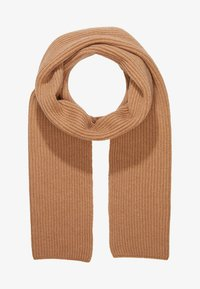 Johnstons of Elgin - RIBBED CASHMERE SCARF - Šála - camel - 2