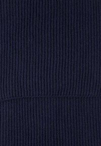 Johnstons of Elgin - RIBBED CASHMERE SCARF - Schal - navy - 2