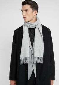Johnstons of Elgin - CASHMERE SCARF - Sjaal - silver - 0