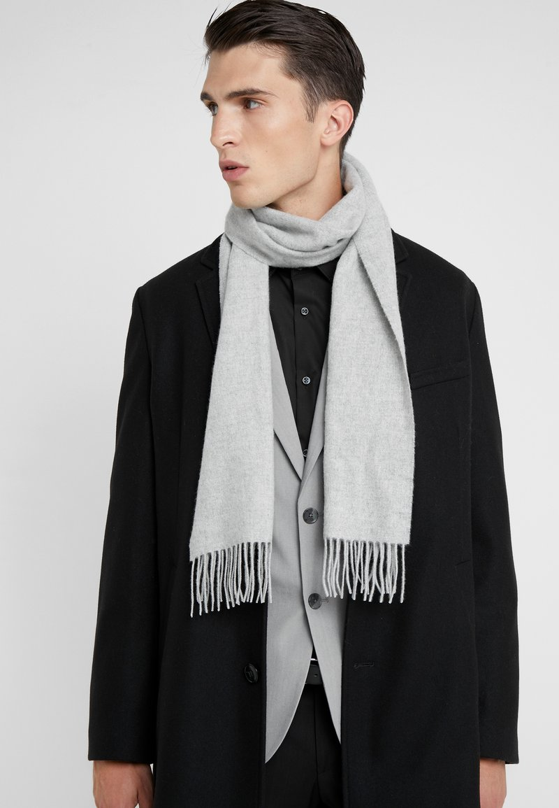 Johnstons of Elgin - CASHMERE SCARF - Sjaal - silver