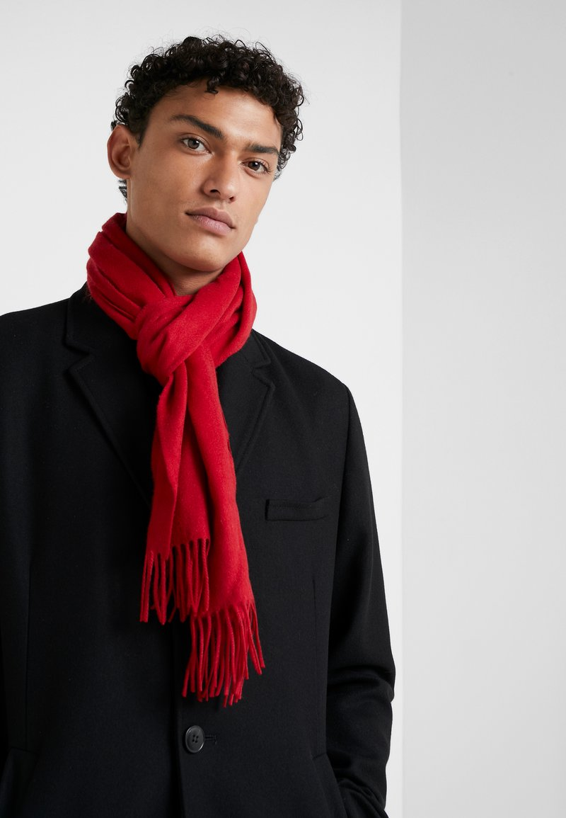 Johnstons of Elgin - CASHMERE SCARF - Szal - classic red