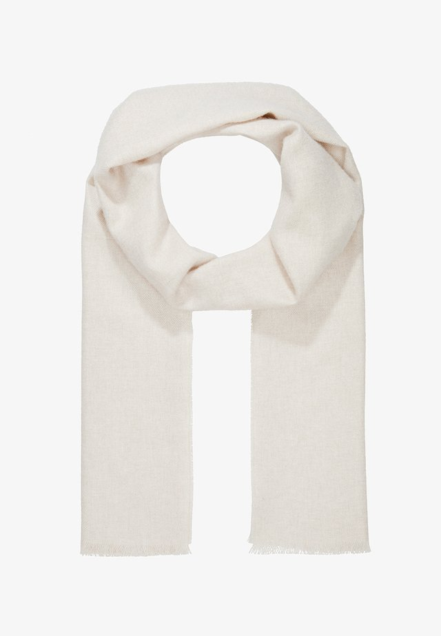 PLAIN SCARF - Sjaal - natural