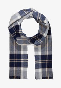 Johnstons of Elgin - TARTAN SCARF - Bufanda - silver - 2