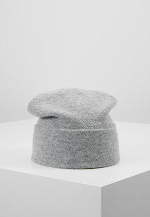 CASHMERE BEANIE - Bonnet - silver