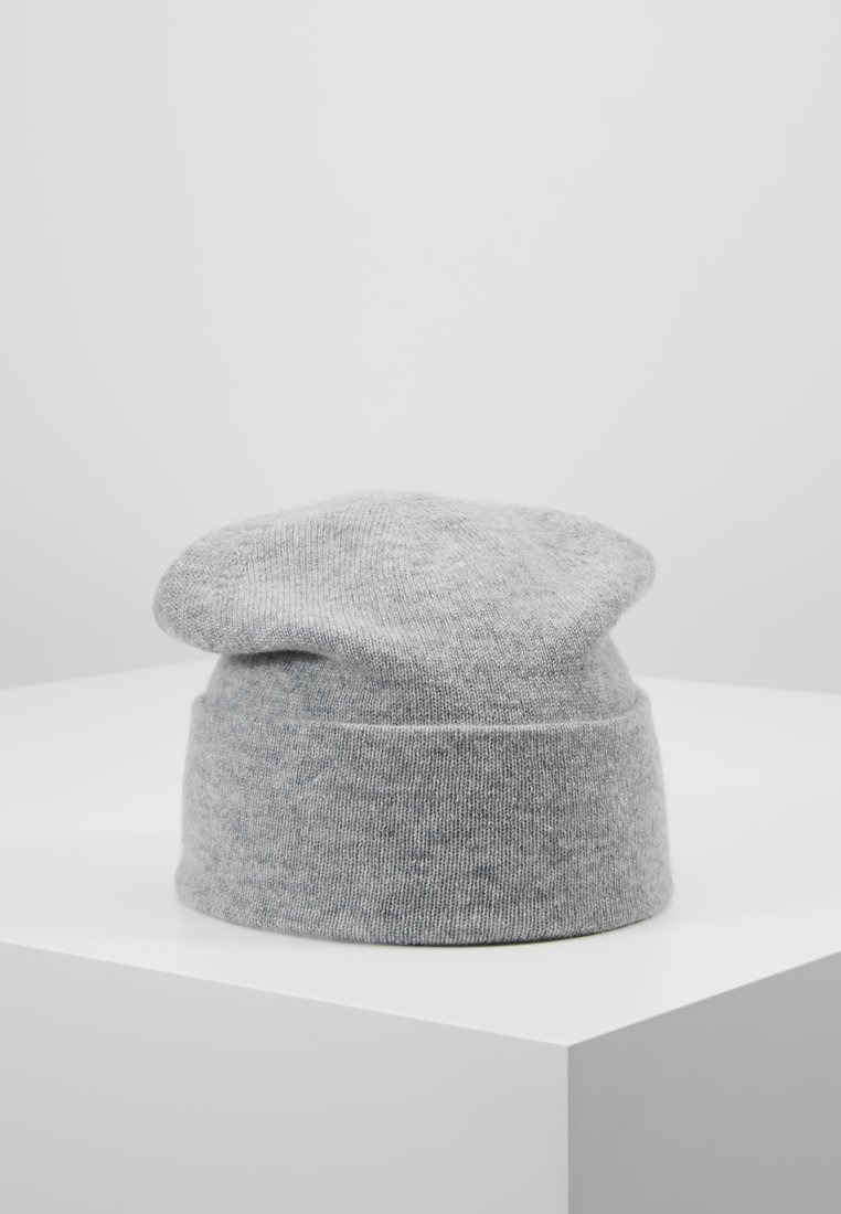 Johnstons of Elgin - CASHMERE BEANIE - Muts - silver