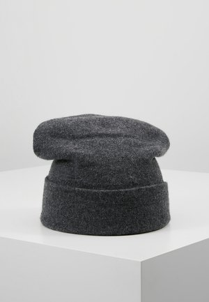 CASHMERE BEANIE - Berretto - dark granite
