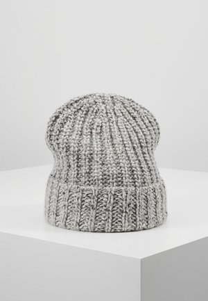 DONEGAL CASHMERE BEANIE - Muts - light grey mix