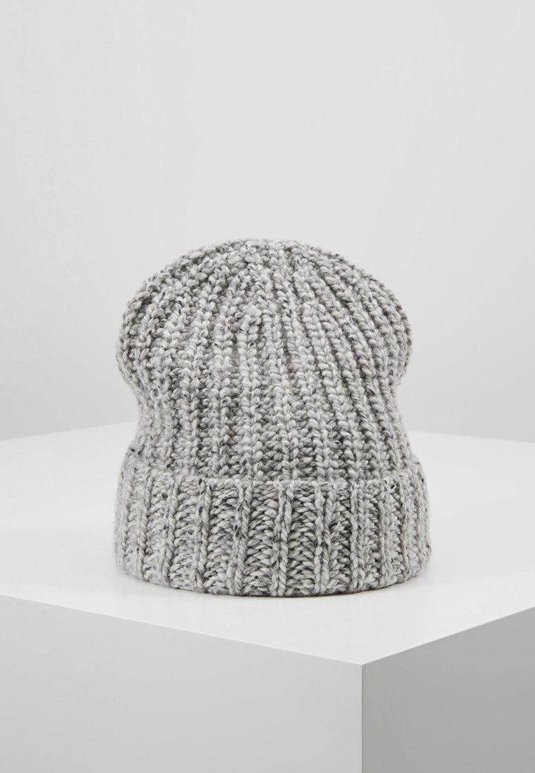 Johnstons of Elgin - DONEGAL CASHMERE BEANIE - Bonnet - light grey mix