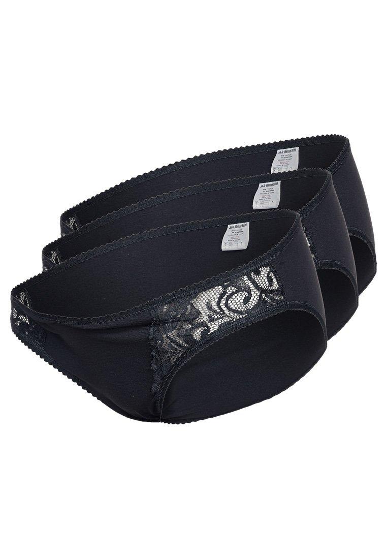 JoJo Maman Bébé - 3 PACK - Slip - schwarz
