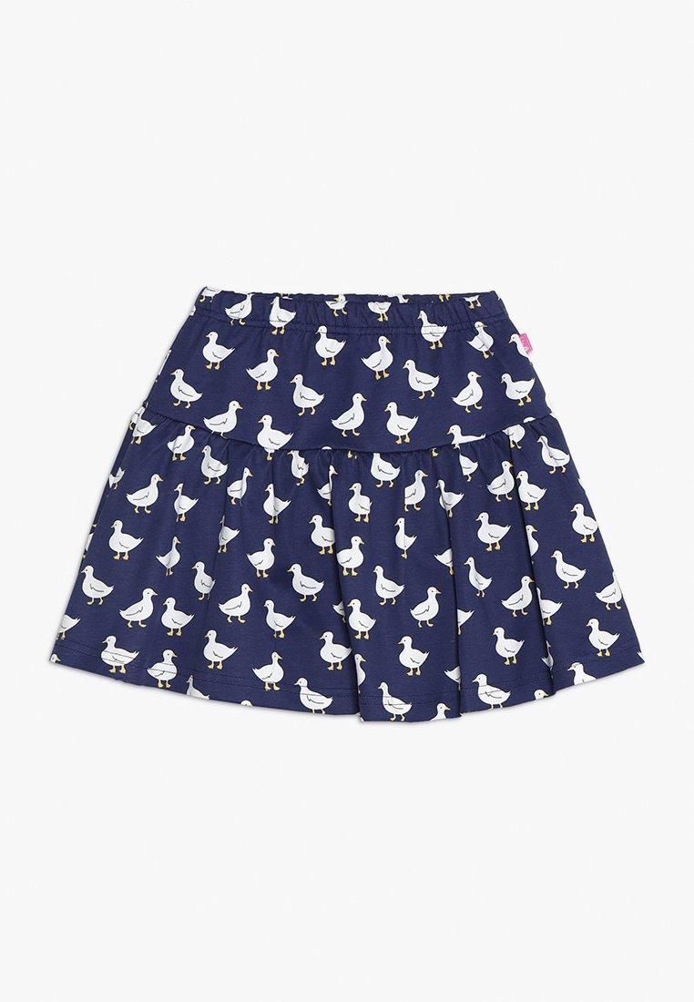 JoJo Maman Bébé - DUCK PRINT SKORT - Minifalda - china blue