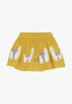 LLAMA SKIRT - Minijupe - yellow