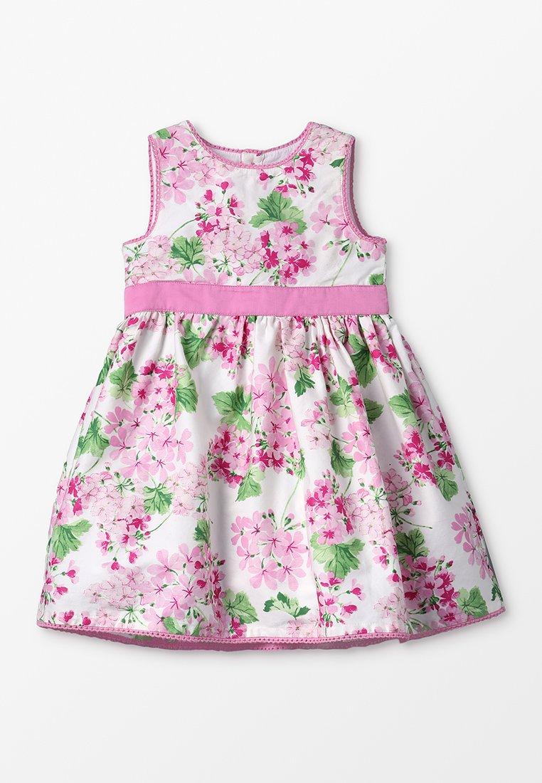 JoJo Maman Bébé - FLORAL PARTY DRESS BABY - Cocktailkleid/festliches Kleid - pink