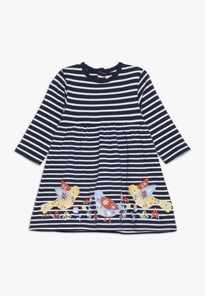 BIRD APPLIQUE DRESS - Jerseyjurk - navy