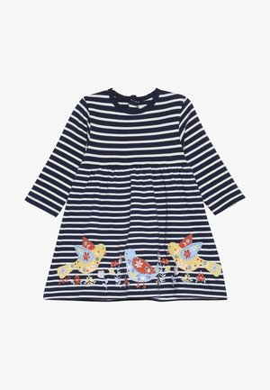 BIRD APPLIQUE DRESS - Jerseyjurk - navy