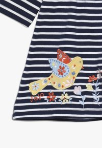 JoJo Maman Bébé - BIRD APPLIQUE DRESS - Robe en jersey - navy