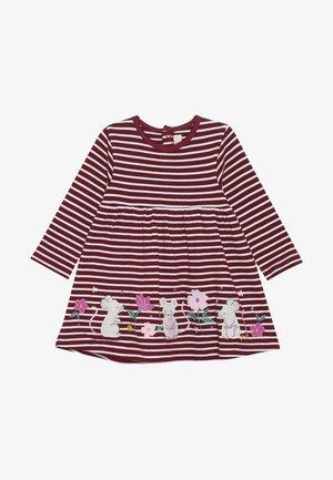 MOUSE APPLIQUE DRESS - Žerzejové šaty - berry