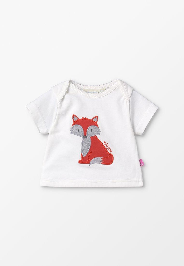 JoJo Maman Bébé - FOX BABY - T-shirts print - cream