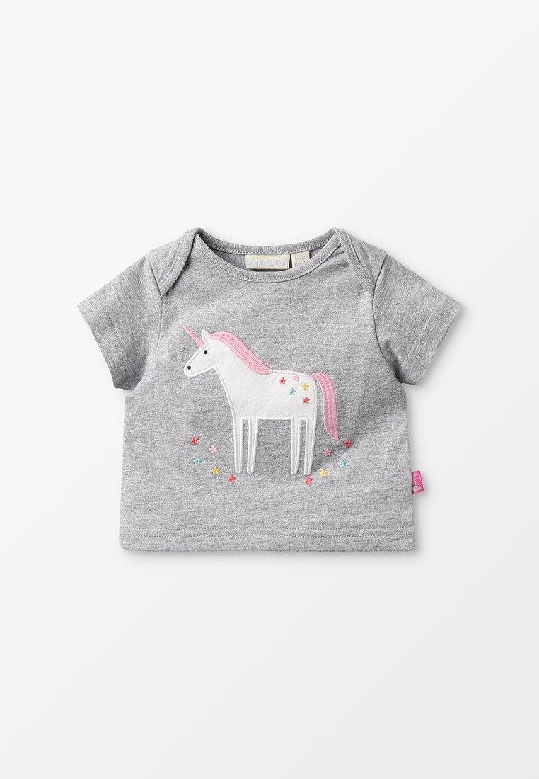 JoJo Maman Bébé - UNICORN BABY  - T-shirts print - marl grey