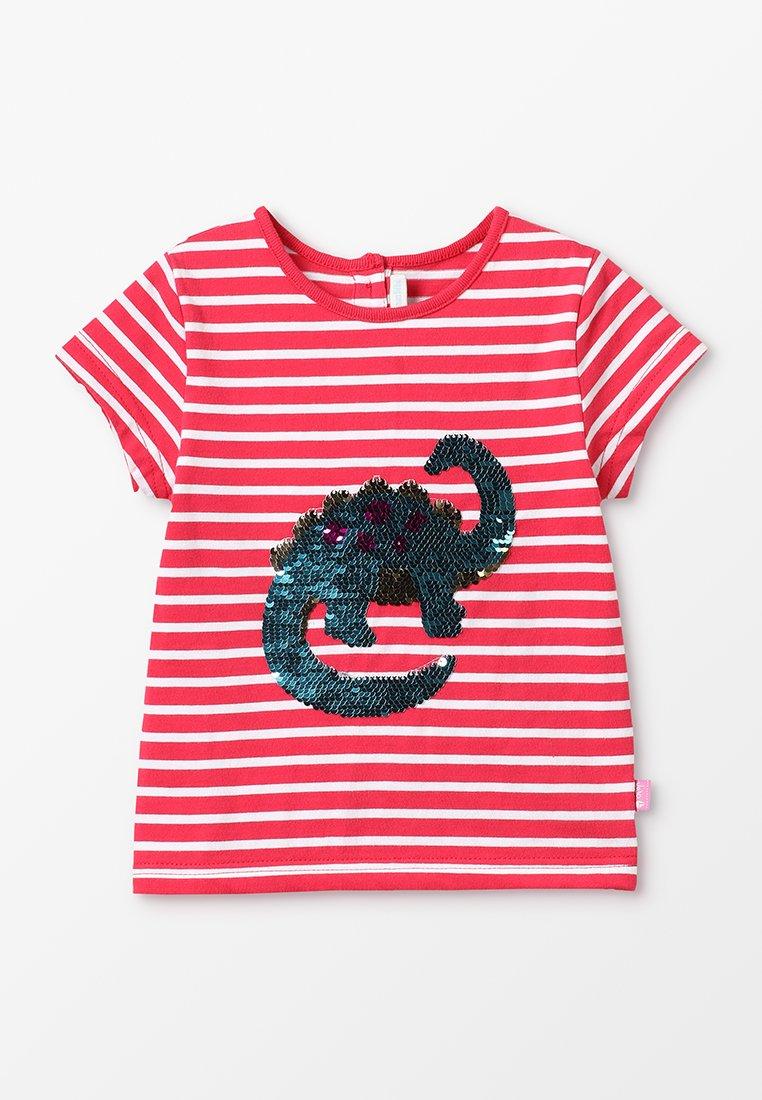 JoJo Maman Bébé - DINOSAUR - T-shirts print - rhubarb