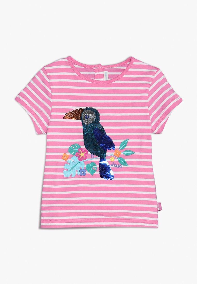 JoJo Maman Bébé - TOUCAN - Camiseta estampada - orchid