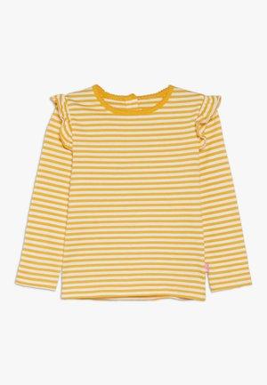 STRIPE FRILL - T-shirt à manches longues - yellow