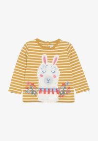 JoJo Maman Bébé - FLORAL LLAMA STRIPE - T-shirt à manches longues - mus - 3