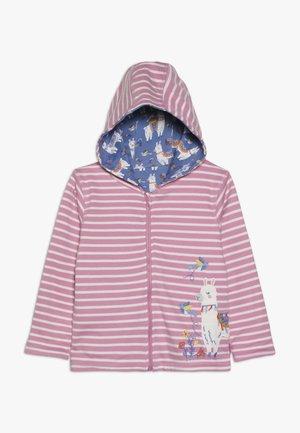 LLAMA REVERSIBLE HOODIE - veste en sweat zippée - rosa