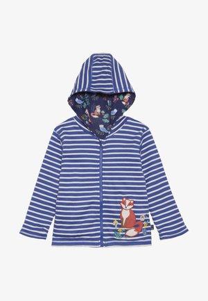 FOX REVERSIBLE HOODIE - veste en sweat zippée - blue