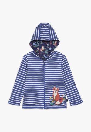 FOX REVERSIBLE HOODIE - Zip-up hoodie - blue