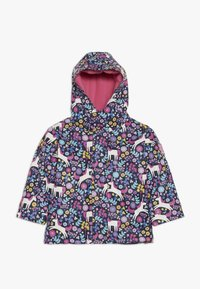 JoJo Maman Bébé - UNICORN COLOUR CHANGE JACKET - Winter jacket - navy - 0