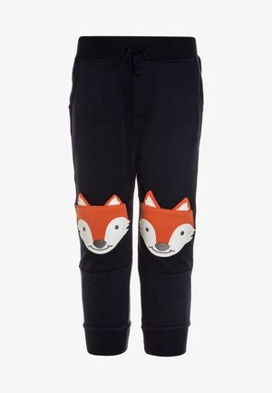 FOX KNEE - Teplákové kalhoty - navy