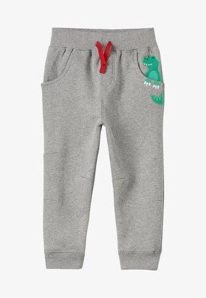 DINO POCKET JOGGERS - Pantalon de survêtement - marl grey