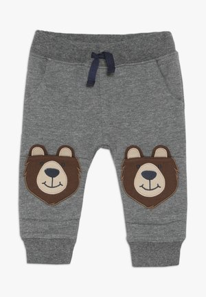 BEAR KNEE JOGGERS - Teplákové kalhoty - grey