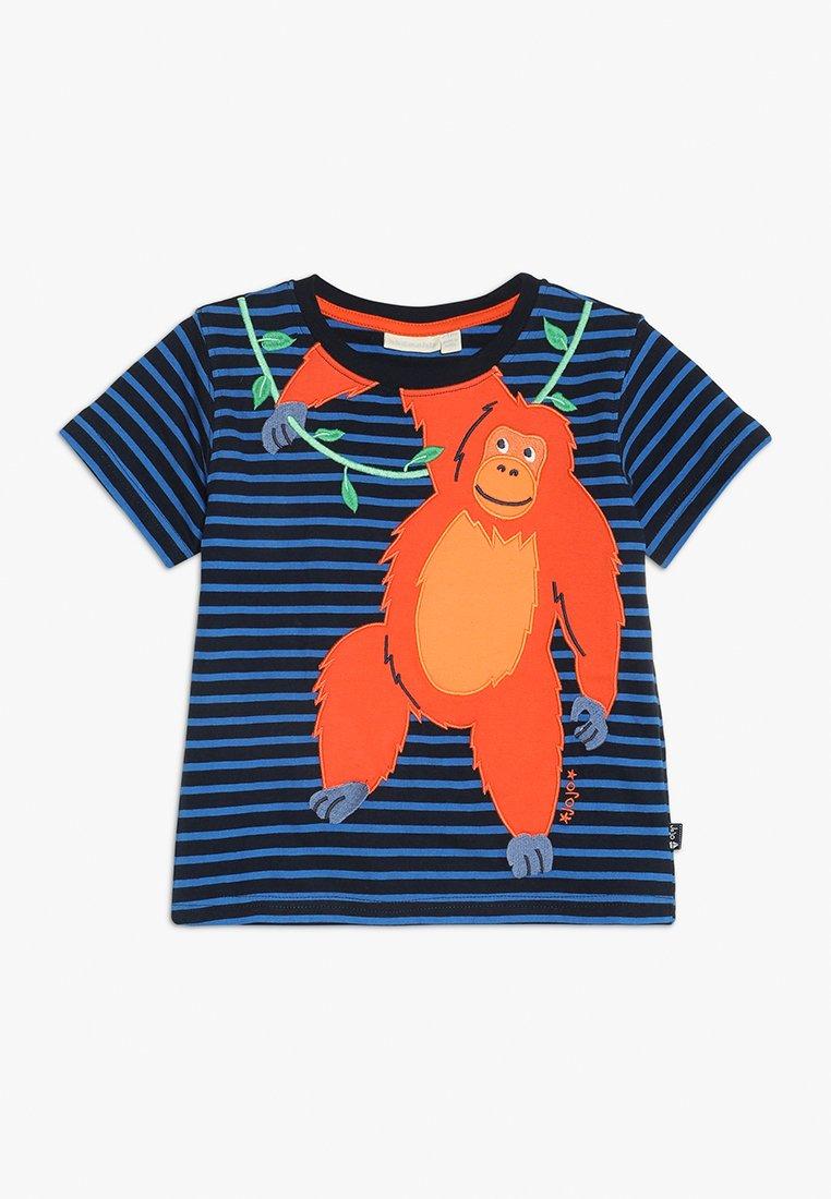 JoJo Maman Bébé - ORANGUTAN - T-Shirt print - navy