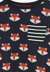 JoJo Maman Bébé - FOX PRINT - Långärmad tröja - navy