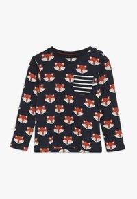 JoJo Maman Bébé - FOX PRINT - Långärmad tröja - navy - 0