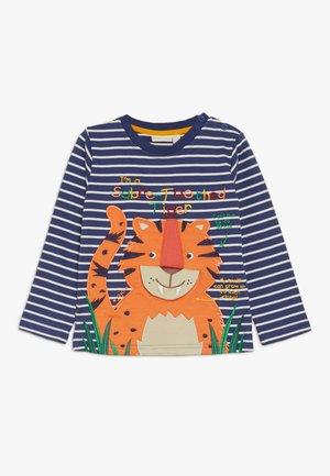 SABRE TOOTH TIGER - T-shirt à manches longues - dark blue/white